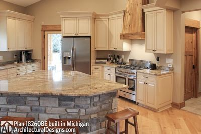 House Plan 18260BE comes to life in Michigan - photo 016