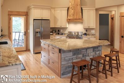 House Plan 18260BE comes to life in Michigan - photo 017