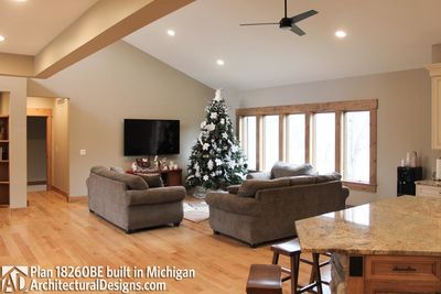 House Plan 18260BE comes to life in Michigan - photo 019