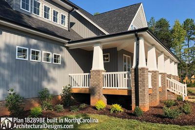 House Plan 18289BE Comes to Life in North Carolina - photo 003
