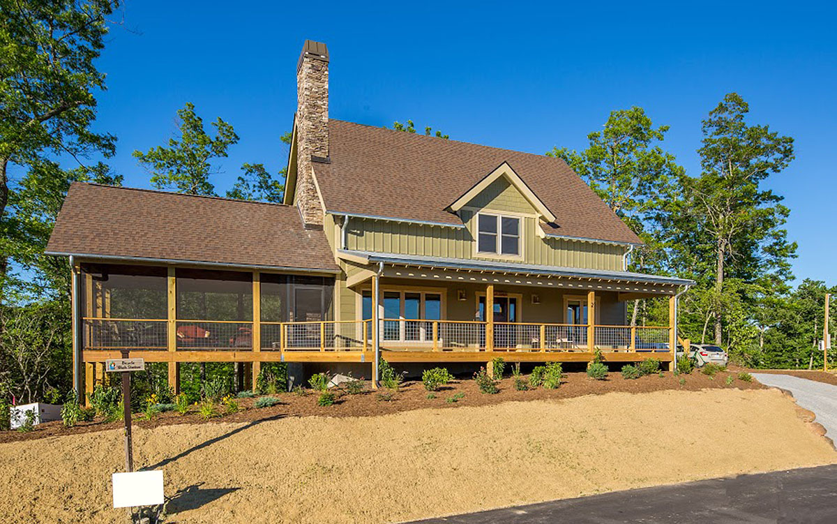 Rustic Country Home Plan - 18789CK