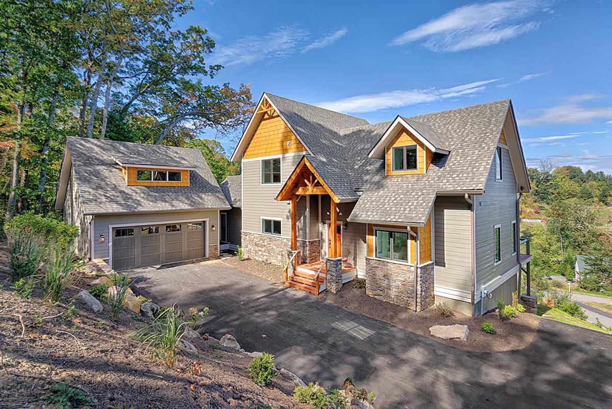 Mountain Craftsman Open Floor Plan Architectural Designs House Plans