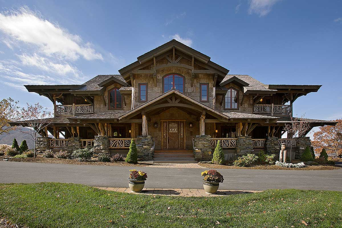 Wood And Stone Mountain Beauty - 18817CK