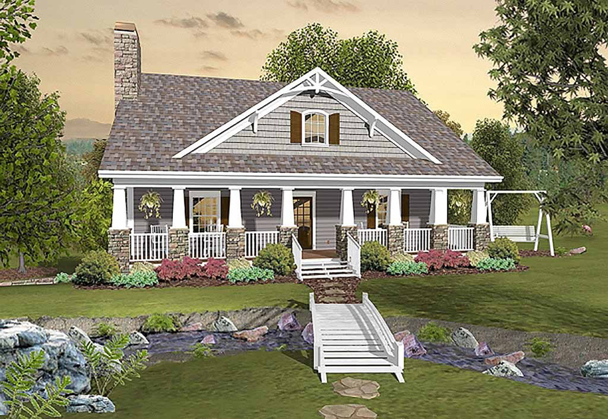 country style house plans with porches country craftsman with matching back porches 20109ga architectural designs house plans 4423