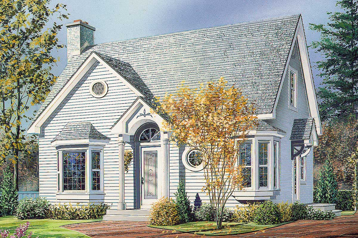 English Cottage - 2103DR | Architectural Designs - House Plans