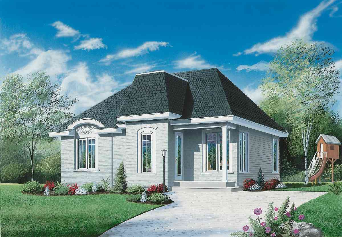 2 Bedroom Starter House Plan 21252dr Architectural Designs House Plans