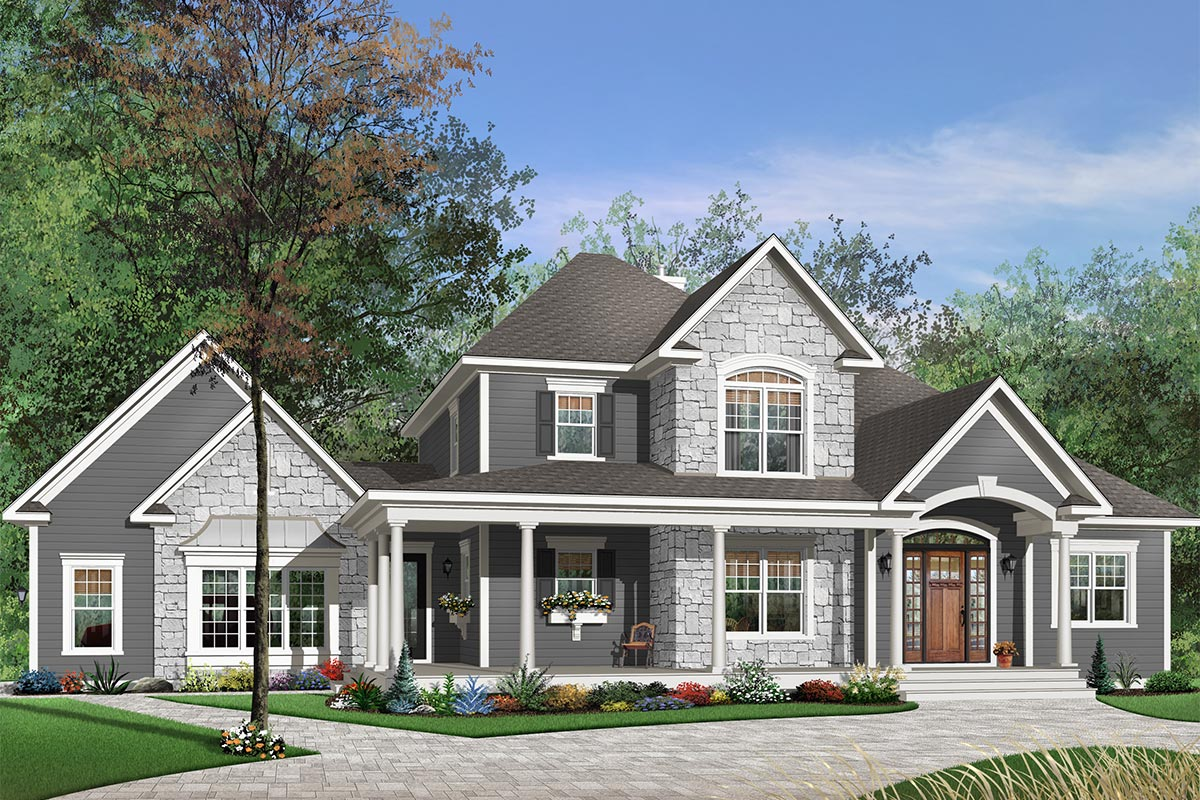 Perfect Planning 21482dr Architectural Designs House