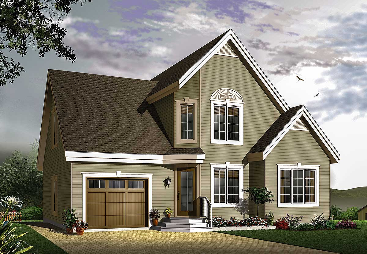 Well Organized Interior 21485dr Architectural Designs House Plans