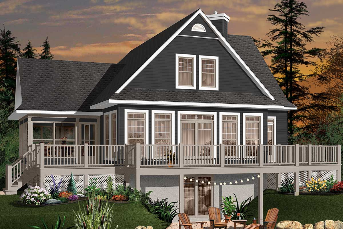 the house designers house plans four season vacation home plan 21569dr architectural designs house plans 9078