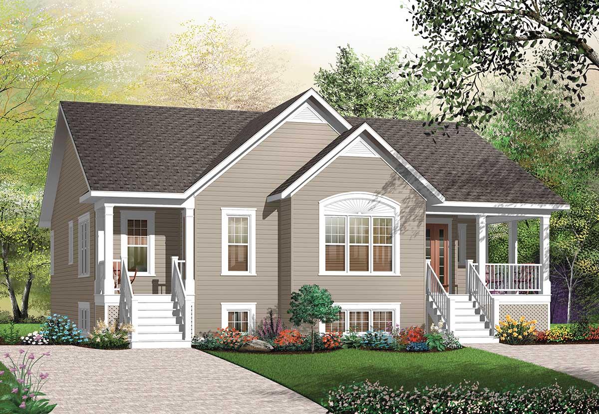4 Bedroom House Plans Open Floor Ranch Basements