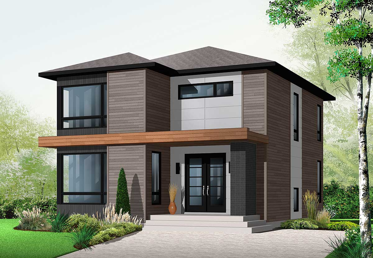 contemporary home designs stately modern 21998dr architectural designs house plans 1346