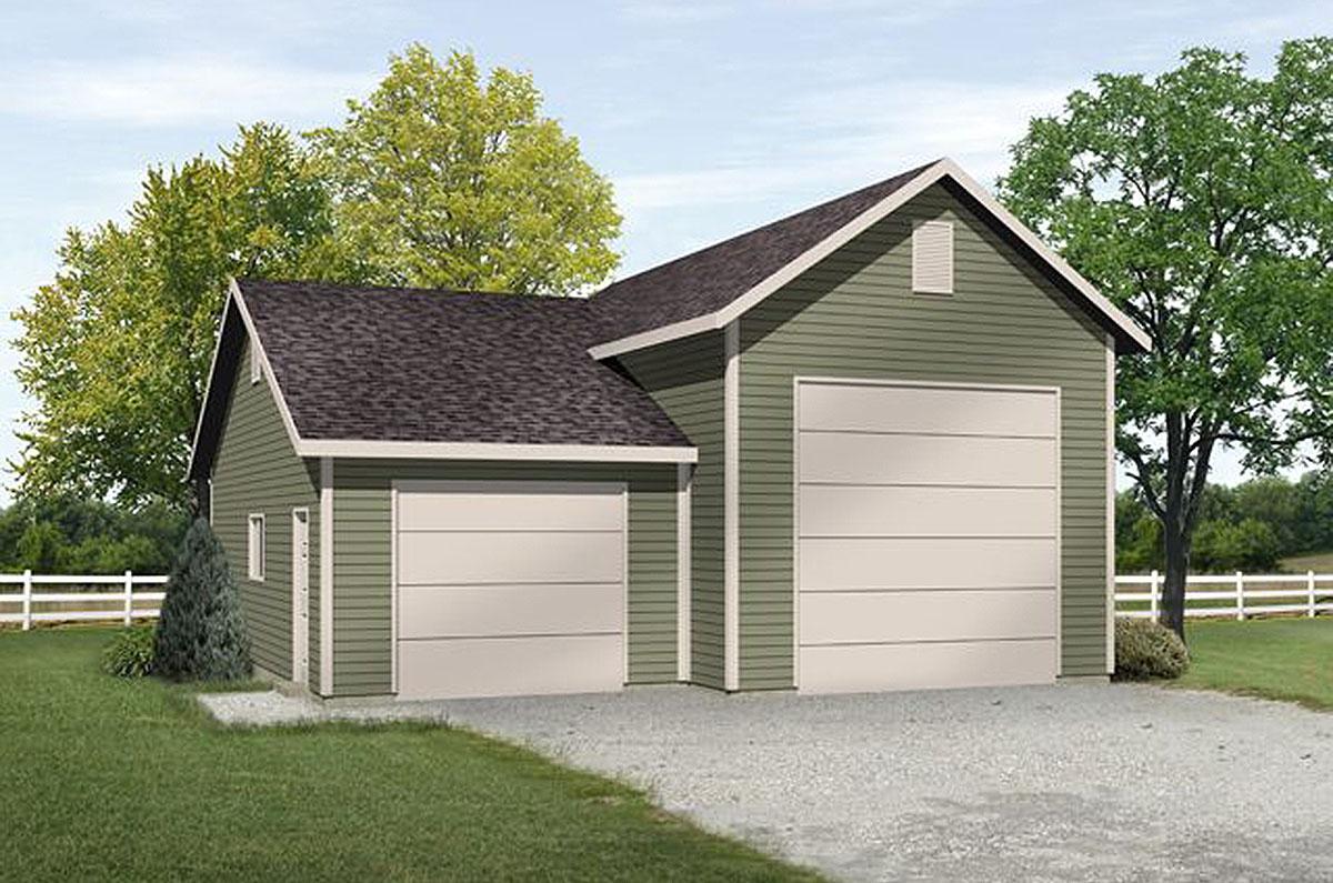 RV Garage with Options - 22101SL | Architectural Designs ...