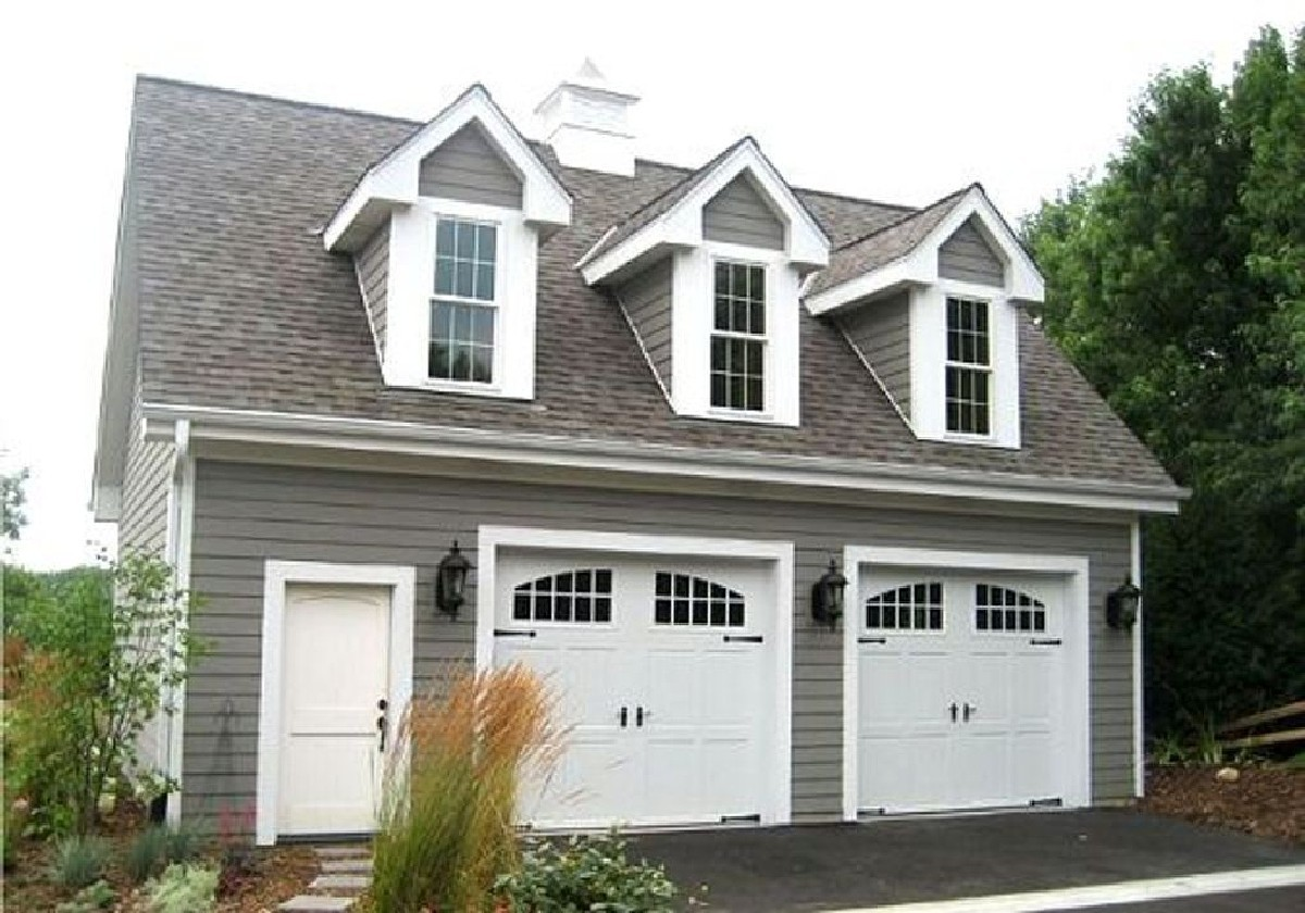 two car garage with loft 2226sl architectural designs house plansTwo Car Garage Pictures #4