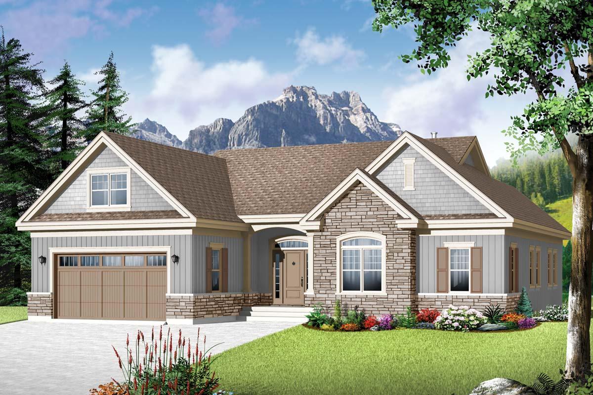 Flexible Family Home Plan - 22367DR | Architectural Designs - House Plans