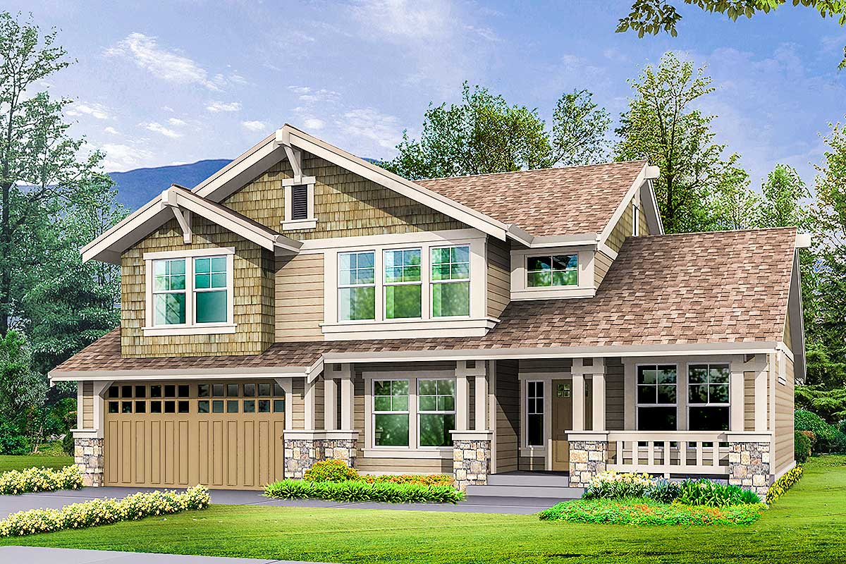23071jd 1511207016 - 15+ House Plans Two Story With Basement  Images