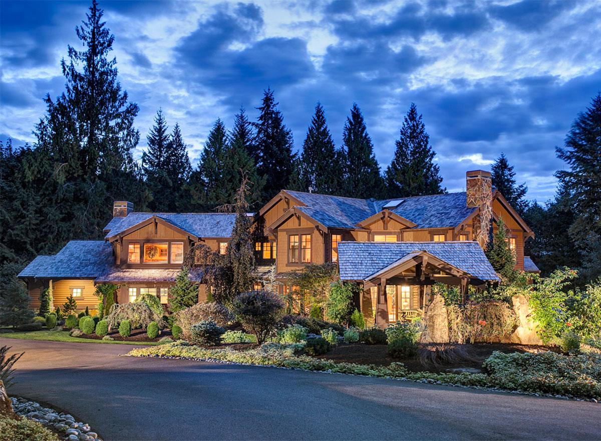 Luxury Craftsman Dream Home Plan - 2308JD