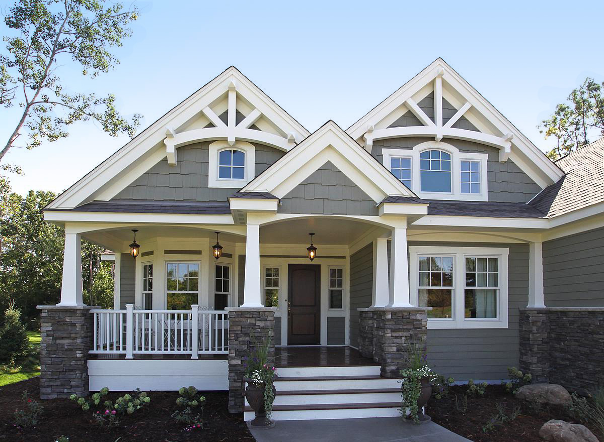 Pleasing Plan 23256Jd Stunning Craftsman Home Plan Home Interior And Landscaping Palasignezvosmurscom