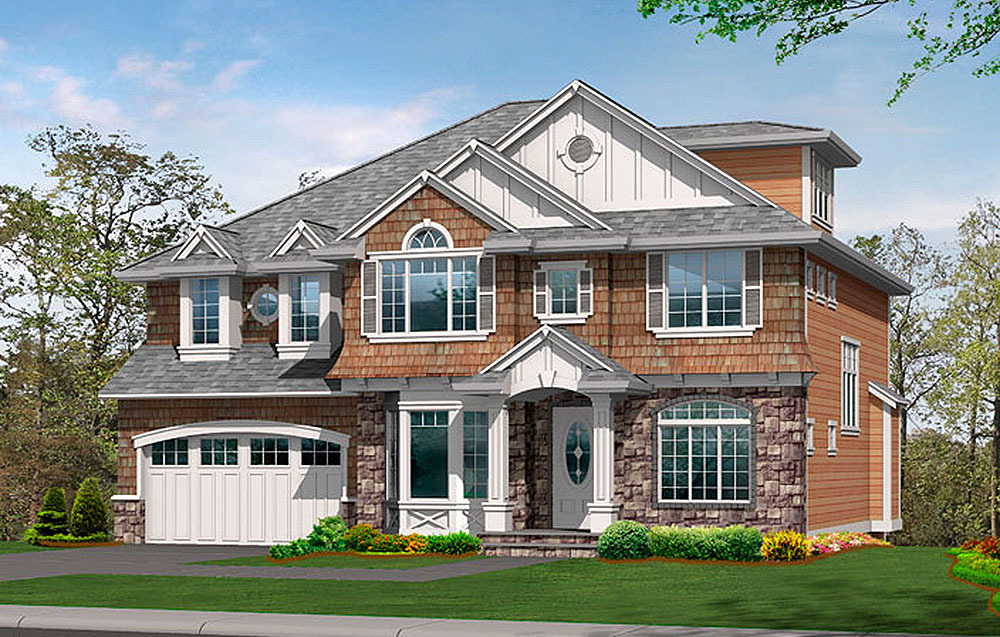 Large Family Home Plan With Options 23418jd Architectural Designs House Plans