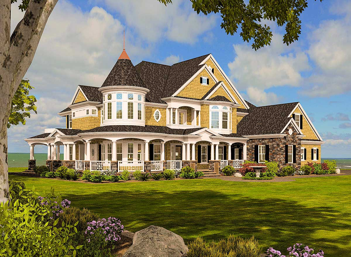 large mansion floor plans magnificent shingle style dream home 23500jd architectural designs house plans 4487