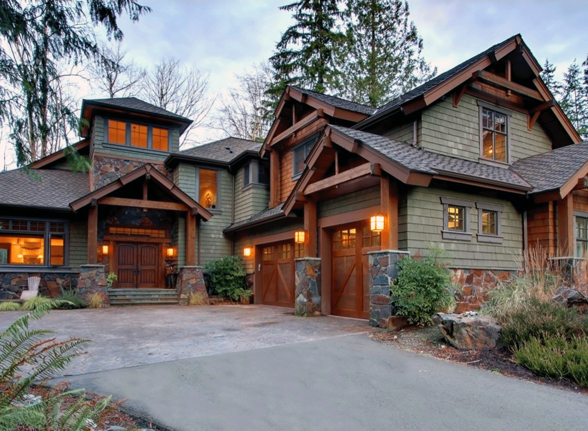 4 Bedroom Rustic Retreat - 23534JD | Architectural Designs ...