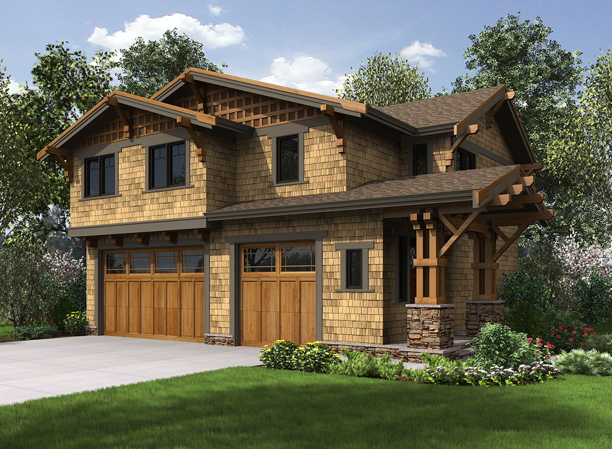 Rustic Carriage House Plan - 23602JD | Architectural ...