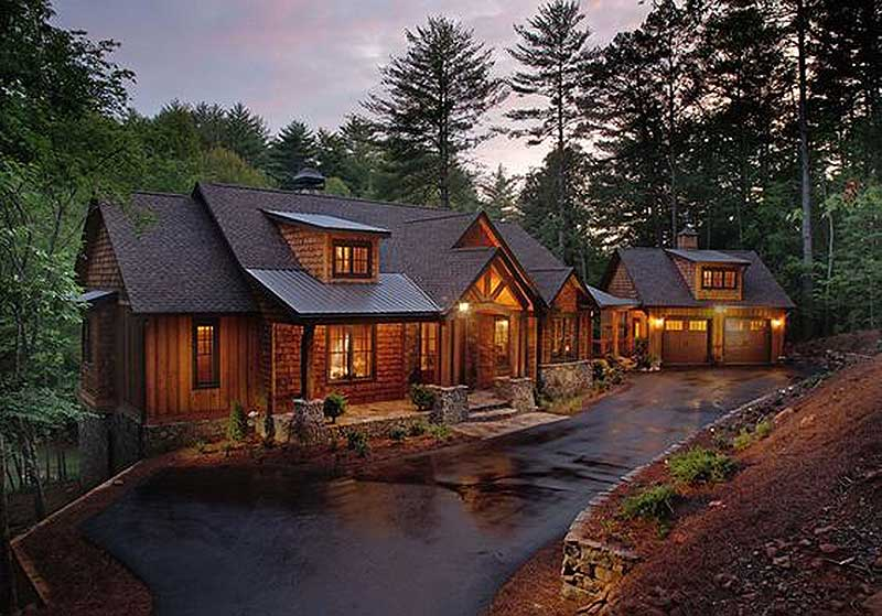 splendid mountain home plan 24111bg architectural designs