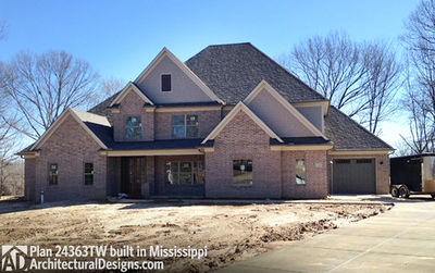 House Plan 24363TW comes to life in Mississippi! - photo 003