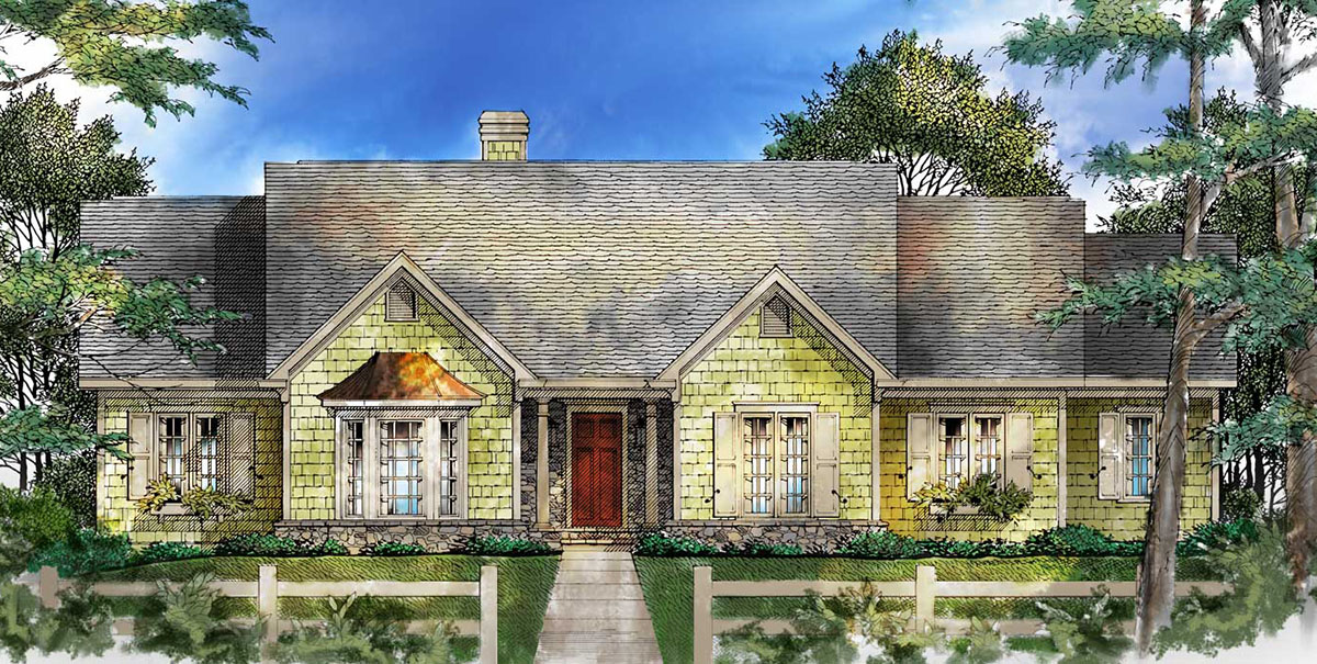 starter home or empty nester 26631gg architectural designs house plans. Black Bedroom Furniture Sets. Home Design Ideas