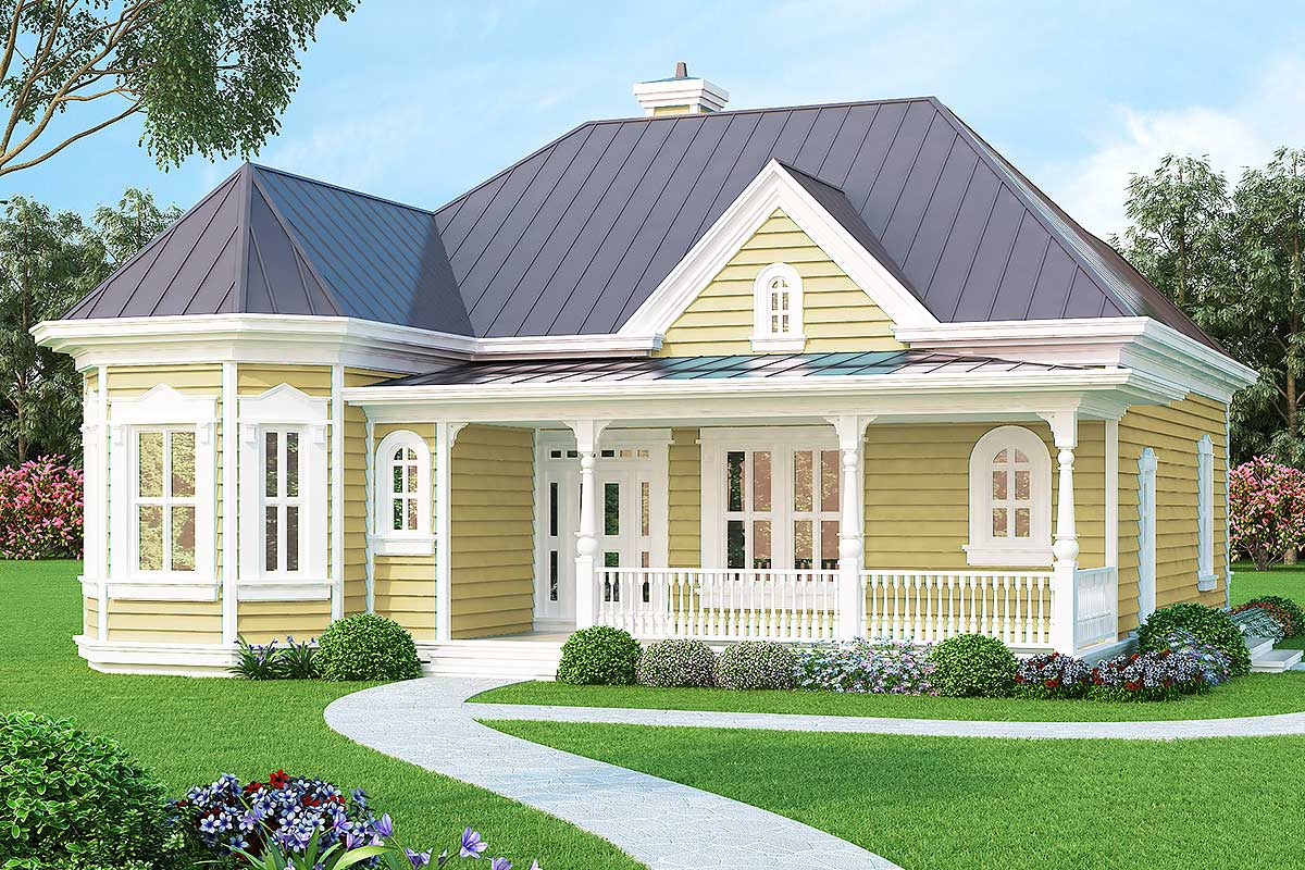 Tiny Home Designs: Vacation Or City Home - 3083D