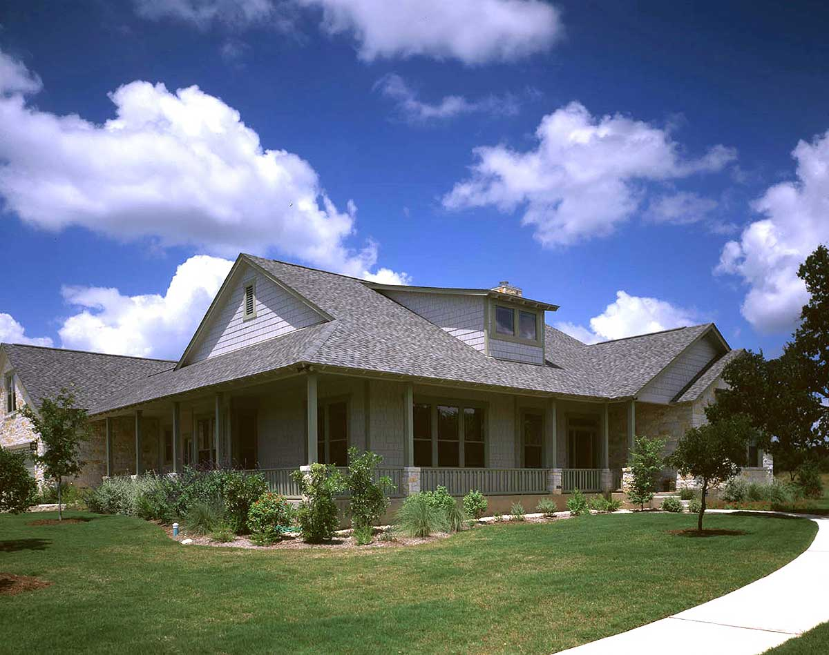 Splendid Hill Country Design 31007d Architectural