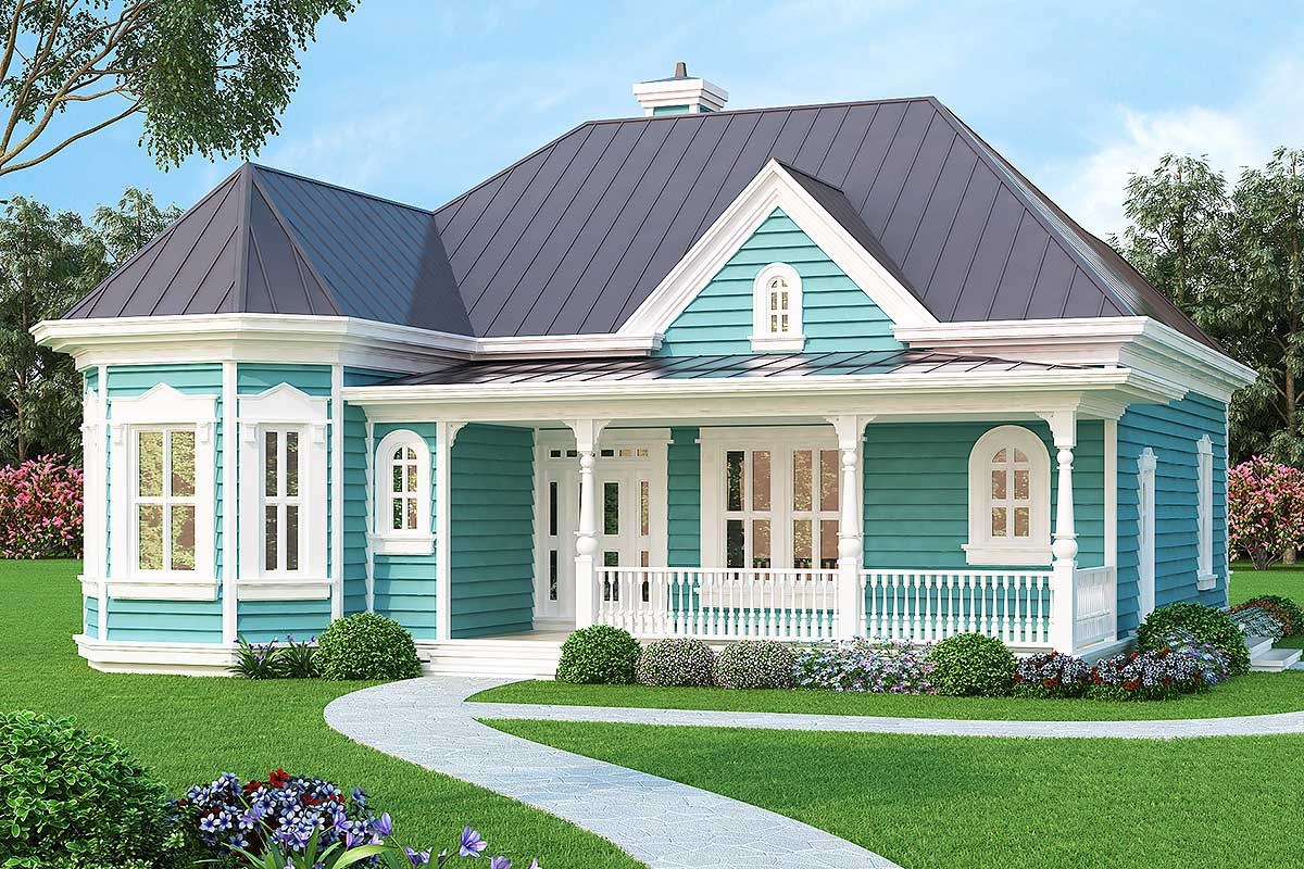 Tiny Home Designs: Vacation Or City Home - 31088D