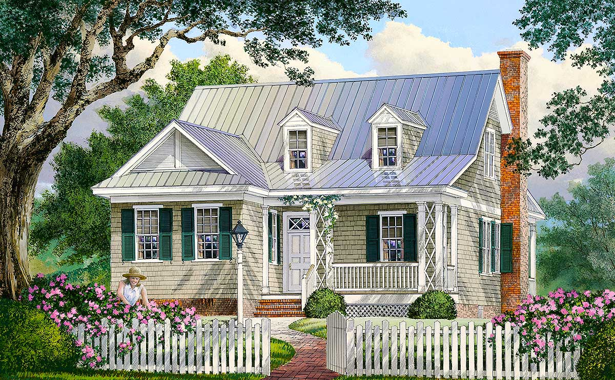 Adorable Cottage Home Plan - 32423WP | Architectural ...