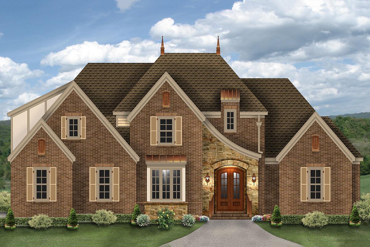 Elegant French Country House Plan - 58586SV ...