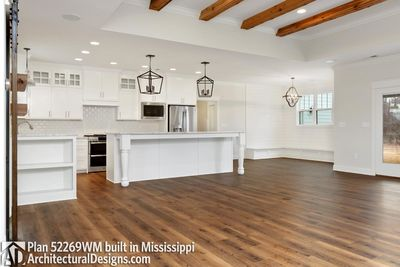 Farmhouse Plan 52269WM comes to life in Mississippi - photo 023