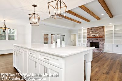 Farmhouse Plan 52269WM comes to life in Mississippi - photo 029