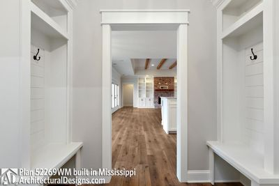 Farmhouse Plan 52269WM comes to life in Mississippi - photo 033