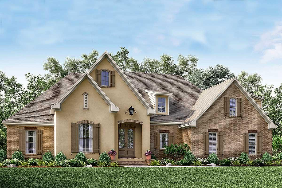 Flexible Southern Home Plan With Bonus Room