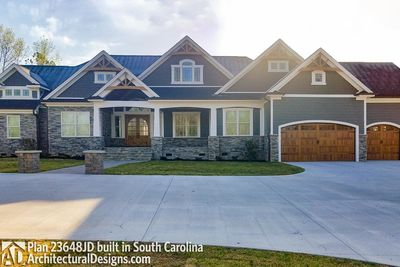 House Plan 23648JD comes to life in South Carolina - photo 002