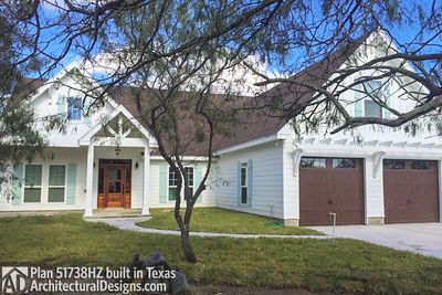 House Plan 51738HZ comes to life in Texas - photo 001