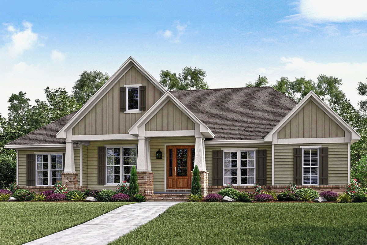 craftman style house plans craftsman house plan loaded with style 51739hz architectural designs house plans 1005