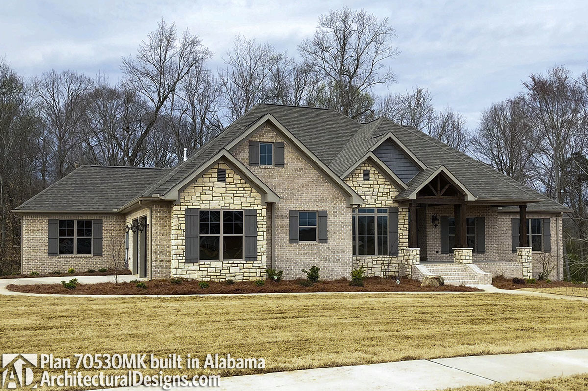 House Plan 70530MK comes to life in Alabama - photo 001