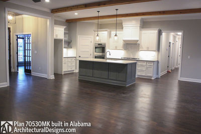 House Plan 70530MK comes to life in Alabama - photo 005