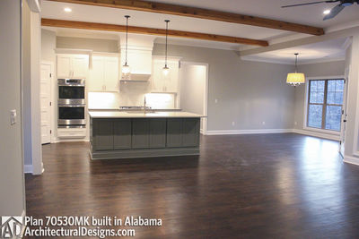 House Plan 70530MK comes to life in Alabama - photo 006