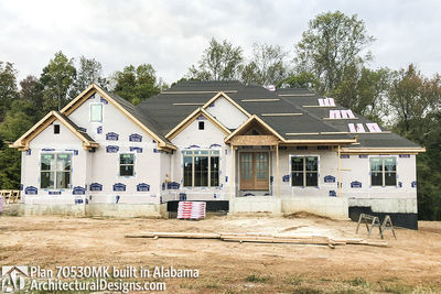 House Plan 70530MK comes to life in Alabama - photo 010