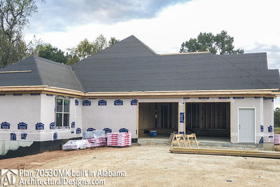 House Plan 70530MK comes to life in Alabama - photo 012