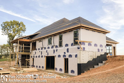 House Plan 70530MK comes to life in Alabama - photo 013