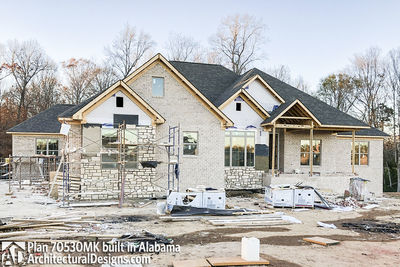 House Plan 70530MK comes to life in Alabama - photo 011