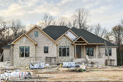 House Plan 70530MK comes to life in Alabama - photo 009