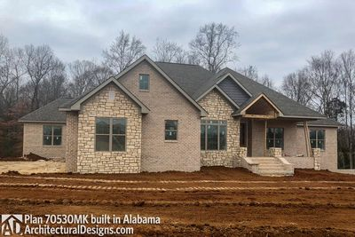 House Plan 70530MK comes to life in Alabama - photo 008