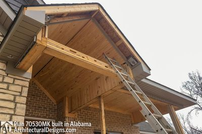 House Plan 70530MK comes to life in Alabama - photo 014